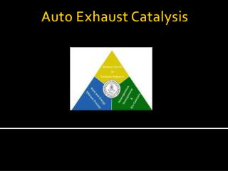 The pollutants present in auto exhaust gas are Sulphur dioxide, SO 2  (primary pollutant)