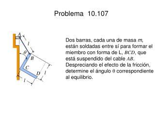 Problema  10.107