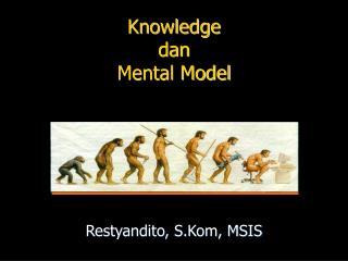 Knowledge  dan  Mental Model