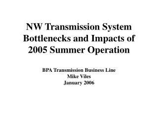 Transmission Loading Characteristics