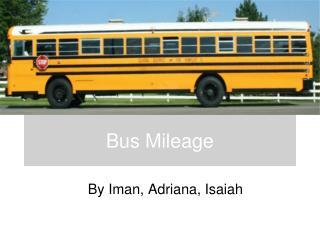Bus Mileage