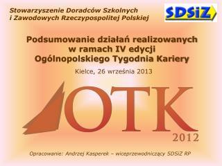 Stowarzyszenie Doradc�w  Szkolnych i Zawodowych Rzeczypospolitej Polskiej