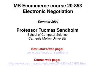 MS Ecommerce course 20-853