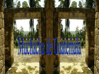 Muchacha de Guatemala