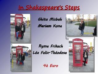 In  Shakespeare's Steps