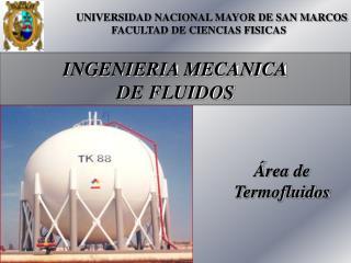 INGENIERIA MECANICA DE FLUIDOS