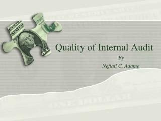 Quality of Internal Audit