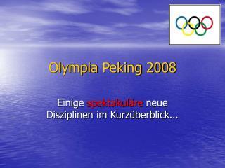 Olympia Peking 2008