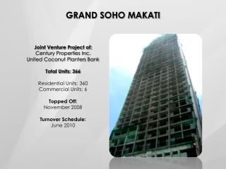 GRAND SOHO MAKATI