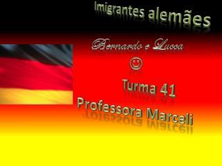I migrantes alemães