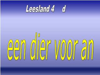 Leesland 4     d