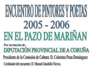 ENCUENTRO DE PINTORES Y POETAS