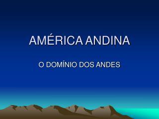 AM�RICA ANDINA
