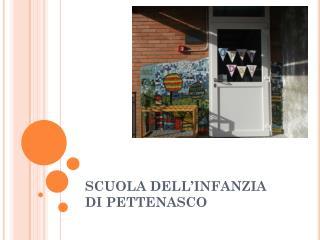 SCUOLA DELL'INFANZIA  DI PETTENASCO
