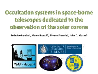 Occultation systems in space-borne telescopes dedicated to the observation of the solar corona
