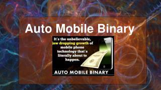 Auto Mobile Binary