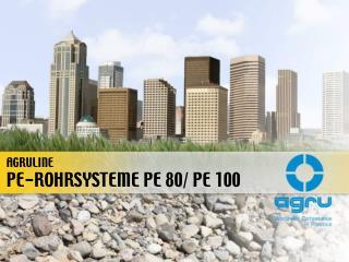 PE-ROHRSYSTEME PE 80/ PE 100