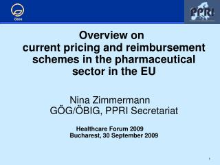 al sector in the EUNina Zimmermann