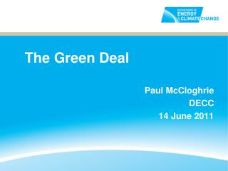 The Green Deal