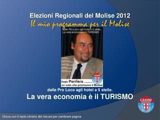 Elezioni Regionali del Molise 2012