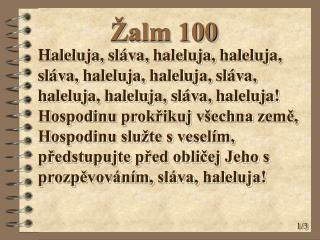 Žalm 100