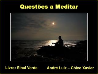 Questões a Meditar