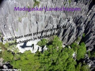 Madagaskar\Landschappen