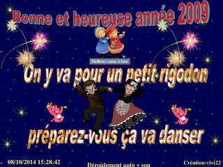 Bonne et heureuse année 2009