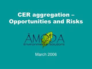 CER aggregation
