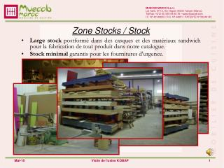Zone Stocks / Stock