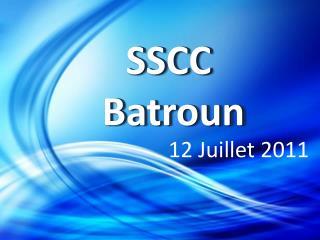 SSCC  Batroun
