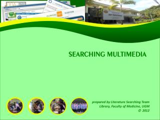 SEARCHING MULTIMEDIA
