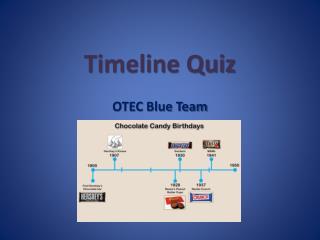 Timeline Quiz