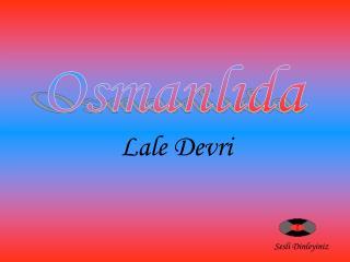 Osmanlıda