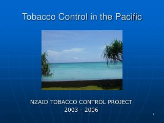 Tobacco Control in the Pacific