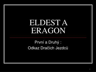ELDEST A ERAGON