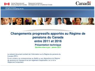 Le présent document contient de l'information sur le Régime de pensions du Canada (RPC).