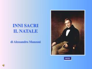 INNI SACRI IL NATALE di Alessandro Manzoni