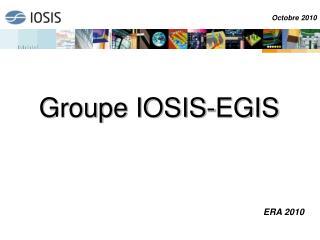 Groupe IOSIS-EGIS