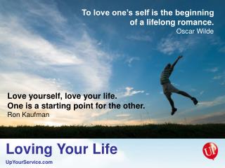 To love one's self is the beginning of a lifelong romance. Oscar Wilde