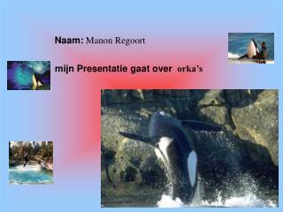 Naam:  Manon Regoort