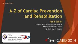 A-Z of Cardiac Prevention and Rehabilitation