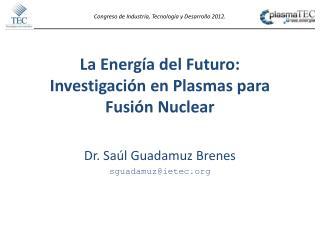 La Energía del Futuro: Investigación en Plasmas para Fusión Nuclear