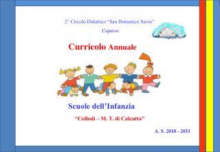 """2° Circolo Didattico """"San Domenico Savio""""  Capurso"""