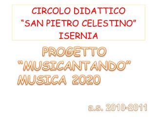 """CIRCOLO DIDATTICO """"SAN PIETRO CELESTINO"""" ISERNIA"""