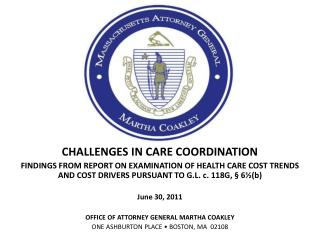CHALLENGES IN CARE COORDINATION