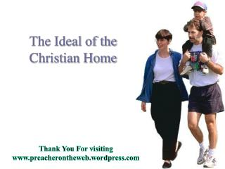 The Ideal of the Christian Home