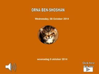 ORNA BEN-SHOSHAN