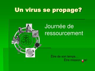 Un virus se propage?
