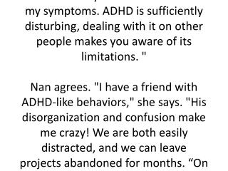 A natural treatment for adult ADHD